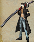 DLC Trafalgar D. Water Law Pirate Warriors 3