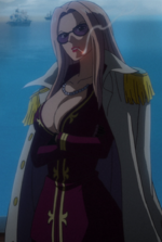 Hina at the Marine Summit Meeting in Film Z