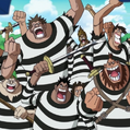 Buggy Pirates Impel Down Convicts Portrait