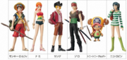 One Piece Locations Trading Figures Strong World