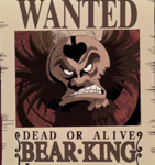 Bear King's Movie 2 Wanted Poster