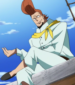 Thatch in the anime