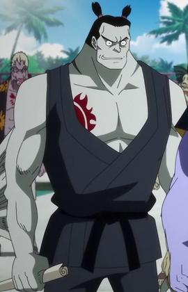 Kuroobi en el anime