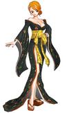 Nami DCL Pirate Warriors 2 kimono