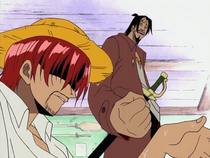 Higuma Mocks Shanks