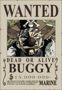 Buggy's Wanted Poster