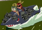 Kerodeek and Keroshot's First Speedboat