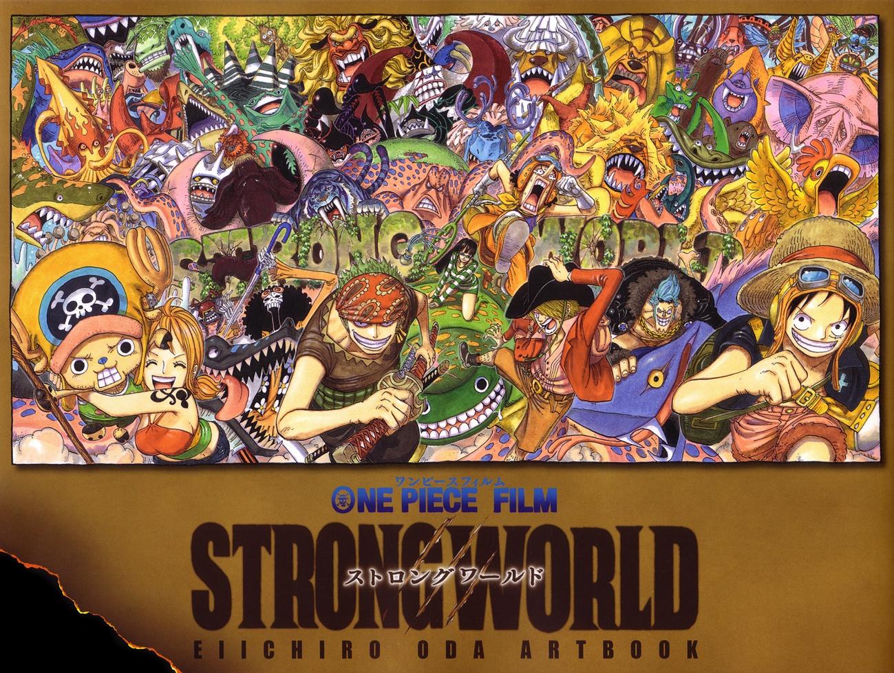 One Piece Film STRONG WORLD Eiichiro Oda Artbook | One Piece Wiki | FANDOM powered by Wikia
