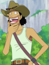Usopp Little East Blue Arc Outfit