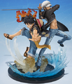 Figuarts Zero Monkey D. Luffy & Trafalgar Law 5th Anniversary Edition