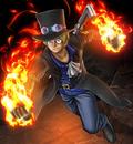 One Piece Burning Blood Revolutionary Sabo (Artwork).png