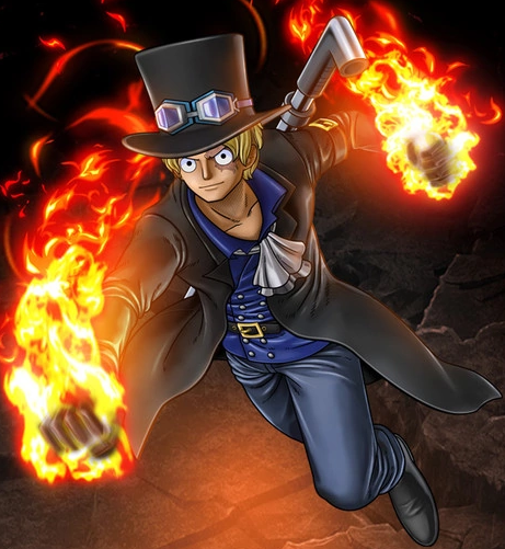File:One Piece Burning Blood Revolutionary Sabo (Artwork).png