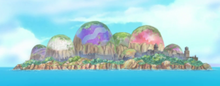 Unnamed Egg Island