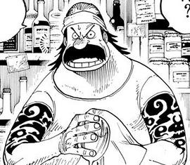 Terry en el manga