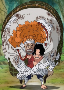 Ace Carries Curly Dadan
