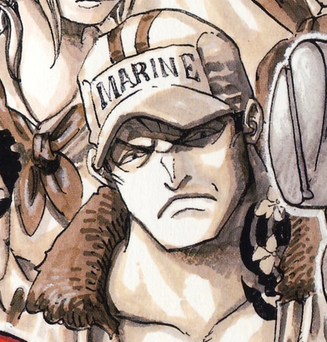 File:Sakazuki as a Young Marine.png