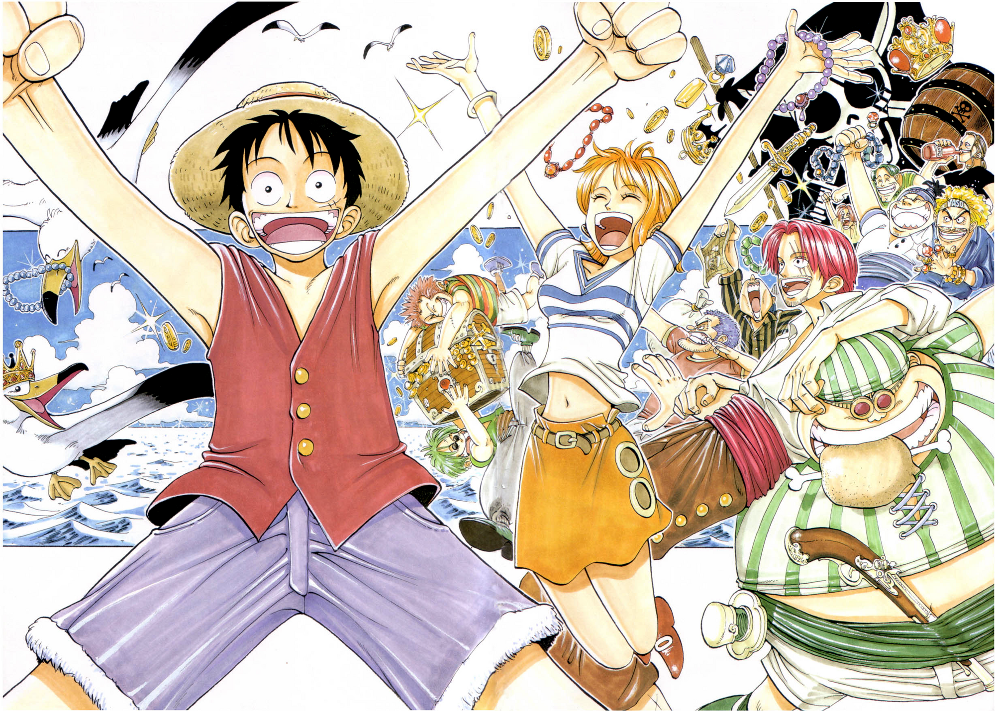 Chapter 1 | One Piece Wiki | FANDOM powered by Wikia