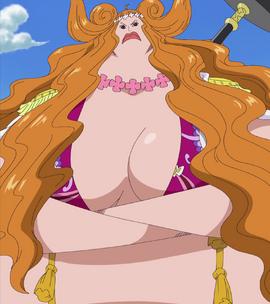 Boa Marigold en el anime