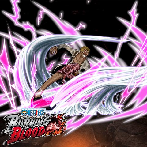 File:One Piece Burning Blood Duel Donquixote Doflamingo (Artwork).png
