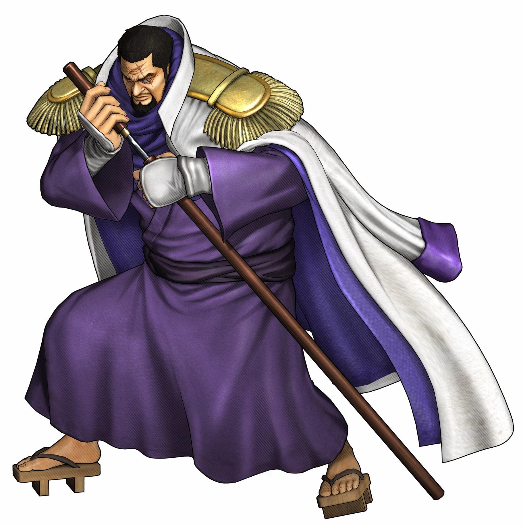Image - Fujitora Pirate Warriors 3.png | One Piece Wiki ...