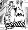 Caesar Clown's Personalized Visual Den Den Mushi