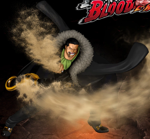 File:One Piece Burning Blood Sir Crocodile (Artwork).png
