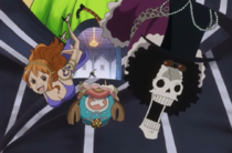 Sanji Frees Crewmates from Bege's Body