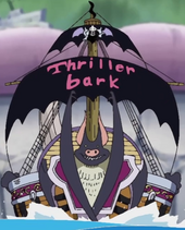 Thriller Bark Escapee Ship