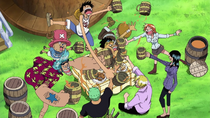 Straw Hat Crew Recruitment Celebration