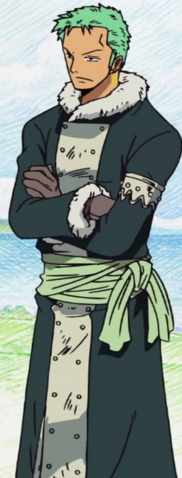 File:Zoro Drum Island Arc Outfit.png