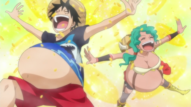 File:Luffy and Lily Gluttons.png