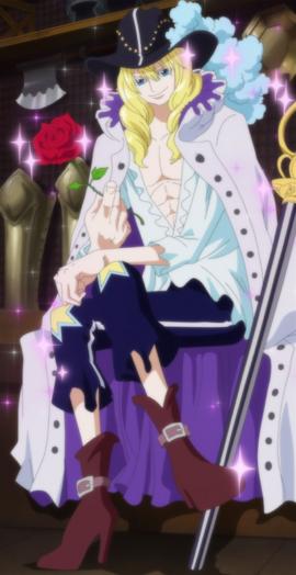 Cavendish en el anime