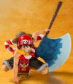 Figuarts Zero Monkey D. Luffy One Piece Film Gold Opening Ver