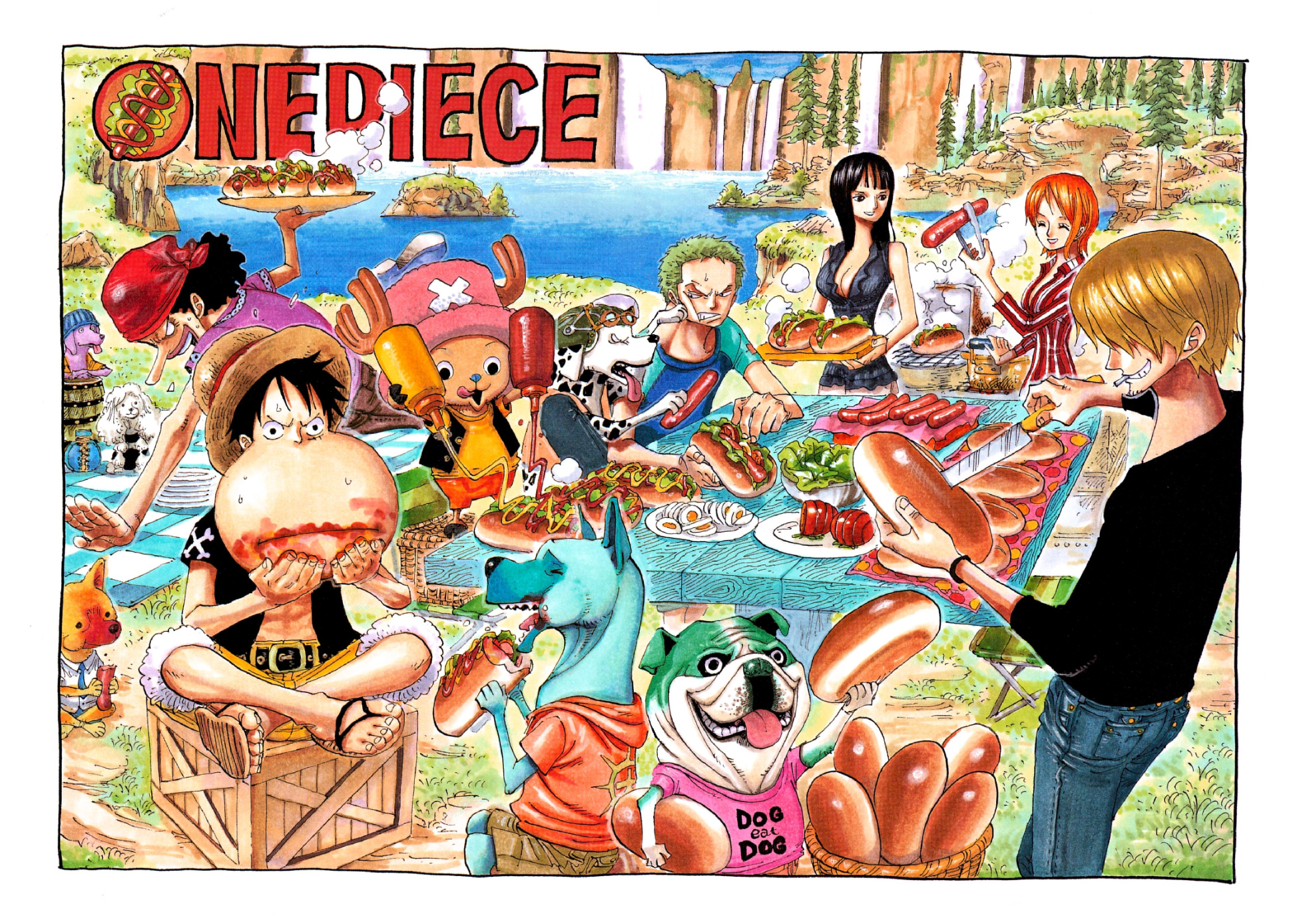 Chapter 410   One Piece Wiki   FANDOM powered by Wikia
