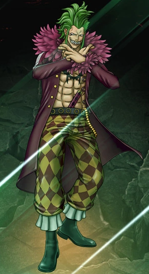 File:One Piece Burning Blood Bartolomeo the Cannibal (Artwork).png