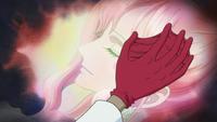 Decken zapamiętuje Shirahoshi jako cel swojej prawej ręki