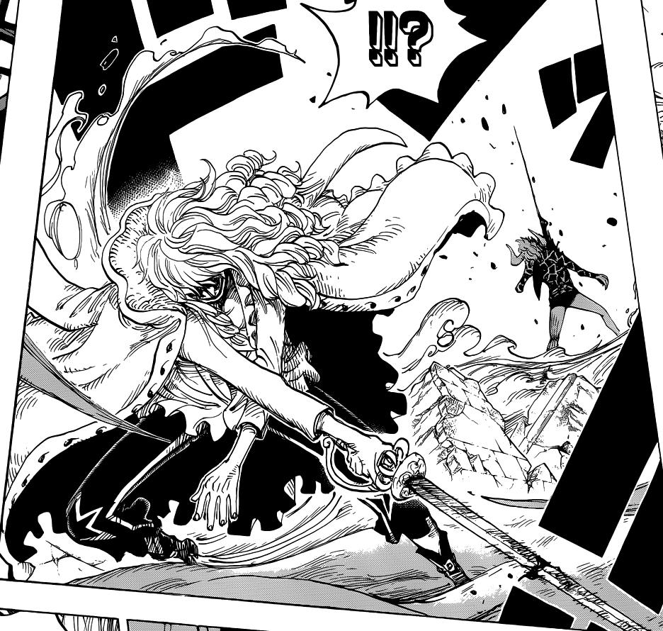 Imagen - Hakuba derrotando a Dellinger.png   One Piece ...