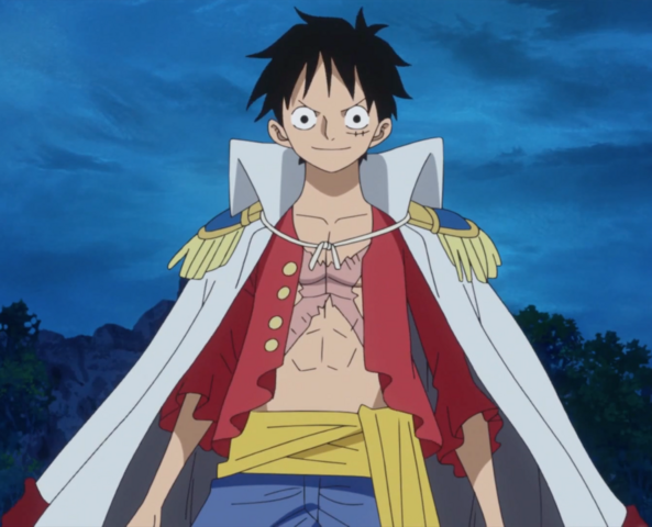 File:Luffy Marine Rookie.png