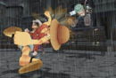 Grand Battle! Rush! - Luffy vs. Smoker