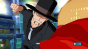 Luffy vs. Lucci in Unlimited World Red