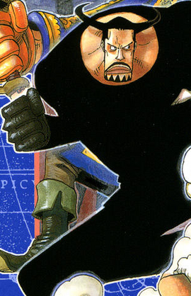 Blueno en el manga