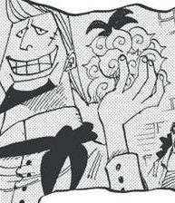 Thatch in the manga