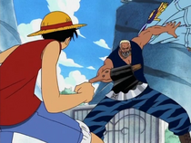 Luffy vs. Morgan