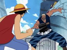 Luffy vs. Morgan
