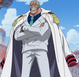 Monkey D. Garp en el anime