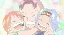 Bell-mère, Nami, and Nojiko Together.png