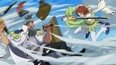 Haruta Cuts Through Steel