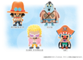 One Piece x Panson Works Soft Vinyl Seven Shichibukai Set 3