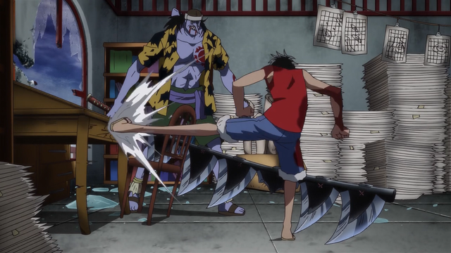 File:Luffy Wrecks Nami's Cartography Room.png