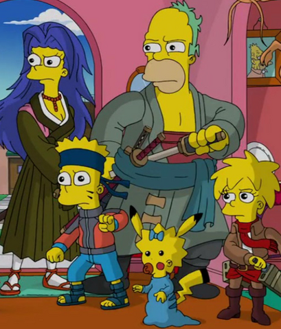 File:The Simpsons Anime Incarnations.png